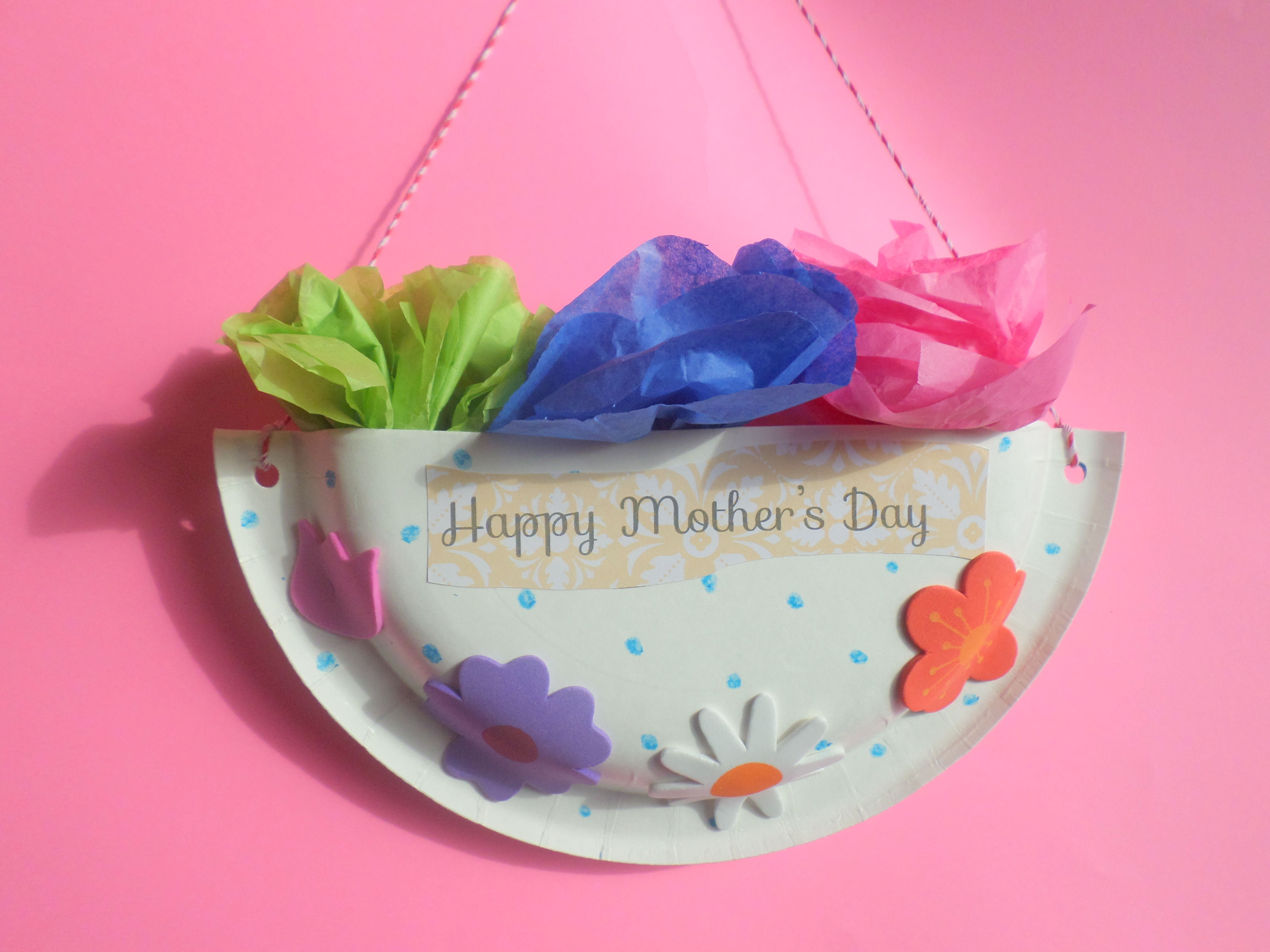 Mother's Day Craft for preschoolers | A cook, crafter and sometimes ...
